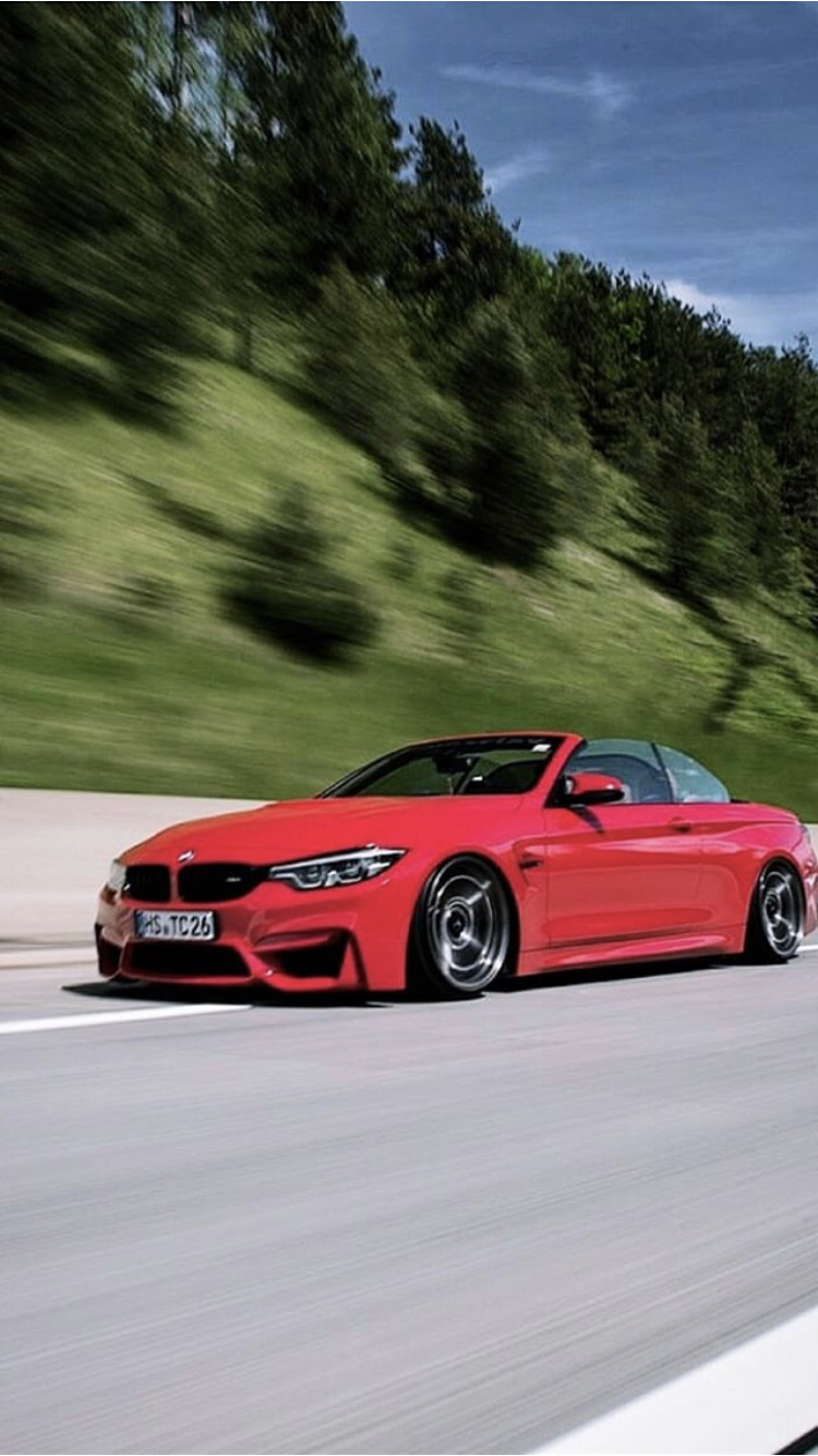 Bmw M4 Convertible Red Bmw Bmw M4 Super Cars