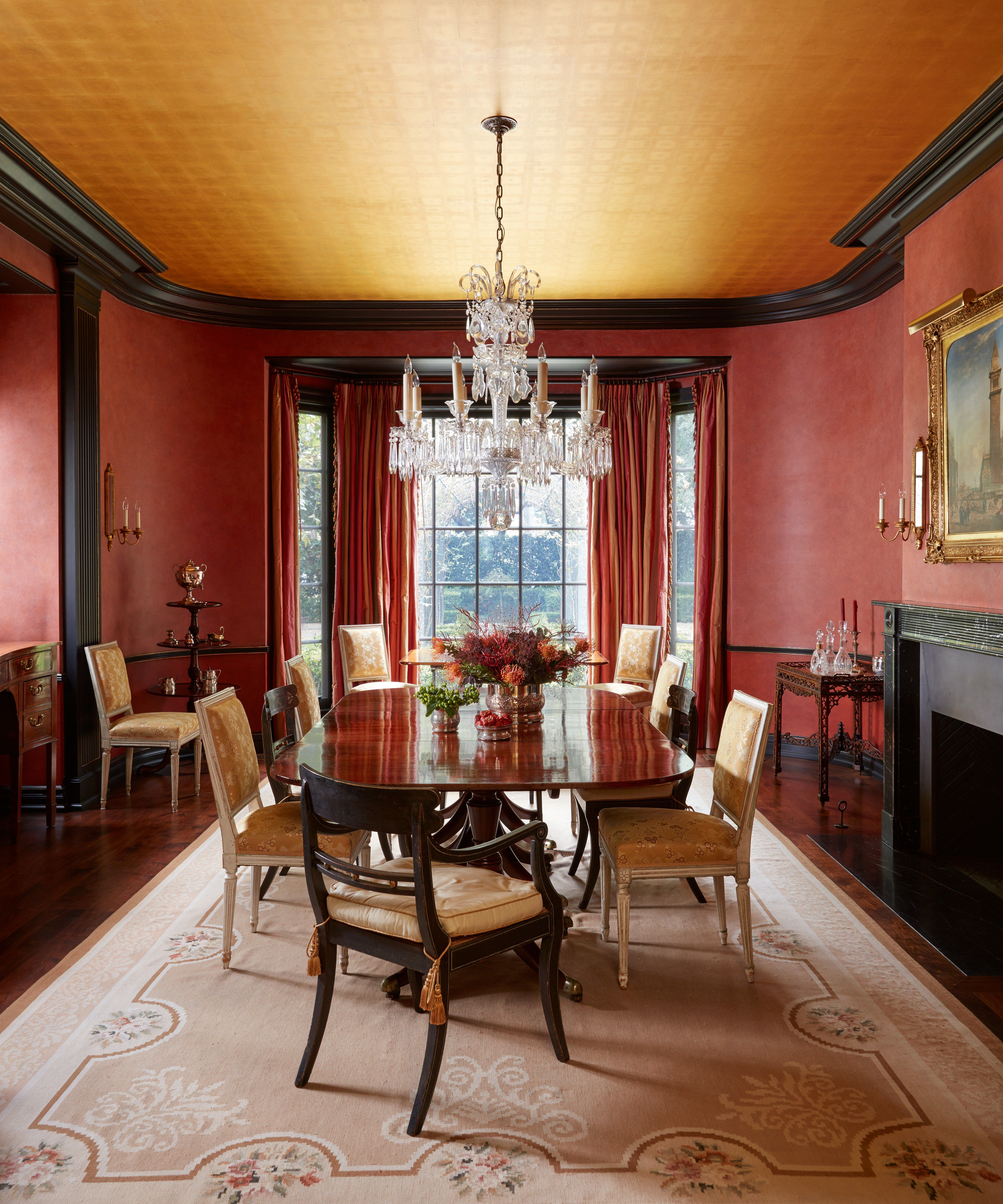Here\'s Why You Should Go Bold With Red Paint | Pinterest | Red paint ...