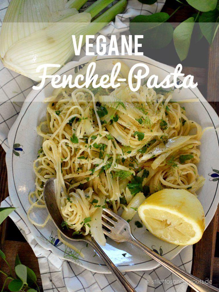 Vegane Fenchel-Pasta #tomatocreamsauces