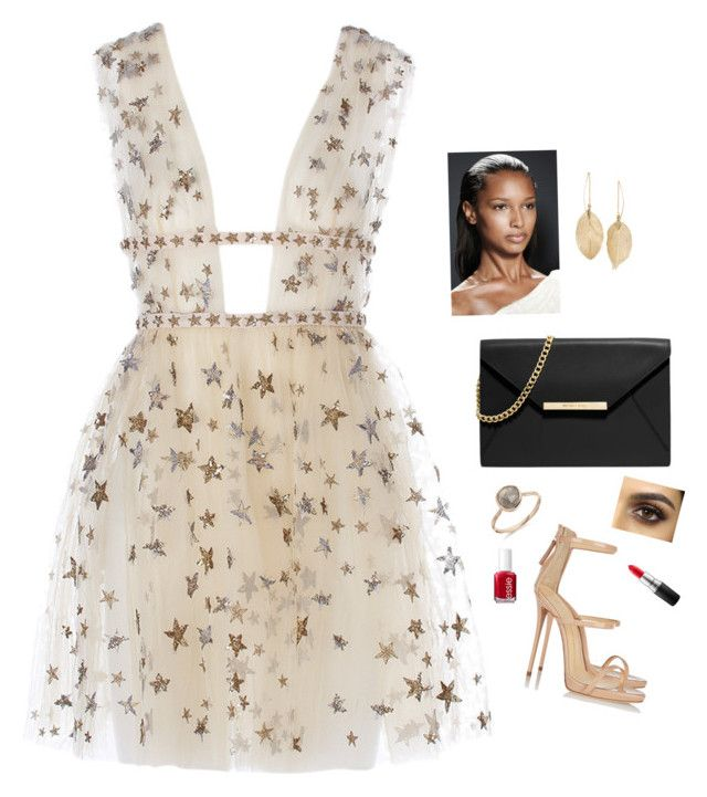 """""""A Star"""" by bylee99 on Polyvore featuring Giuseppe Zanotti, MICHAEL Michael Kors, Lulu*s, MAC Cosmetics and Essie"""