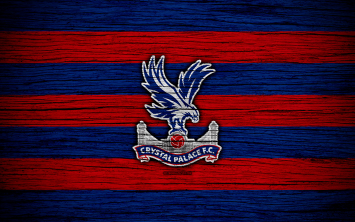 Download Wallpapers Crystal Palace, 4k, Premier League