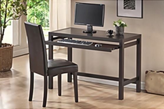 modern desk and chair set study computer laptop table home office