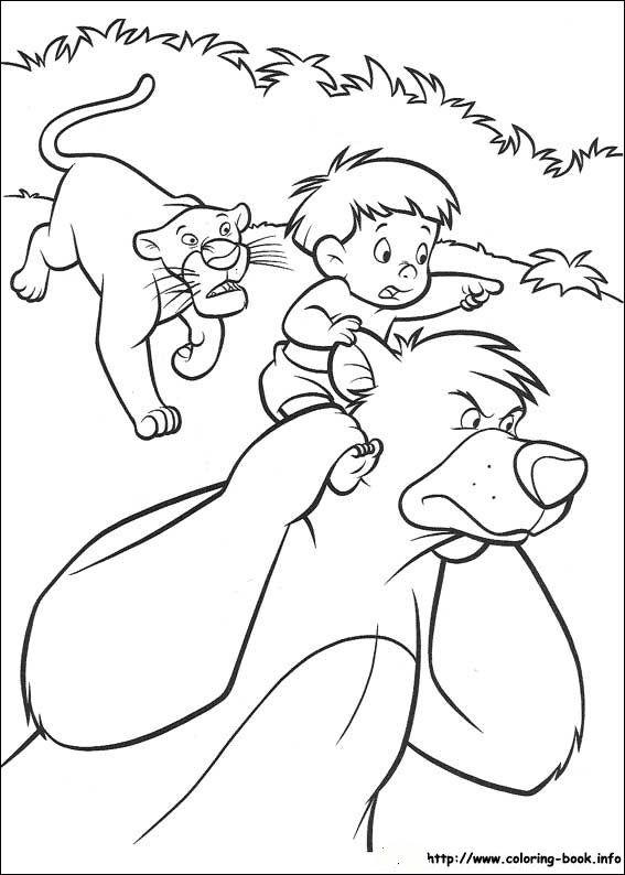 Jungle Book 2 coloring picture | Disney Coloring Pages | Disney ...