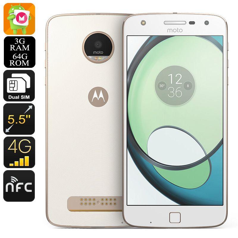 Lenovo Motorola Moto Z Play XT1635-03 Smartphone - Android 6 0, Octa