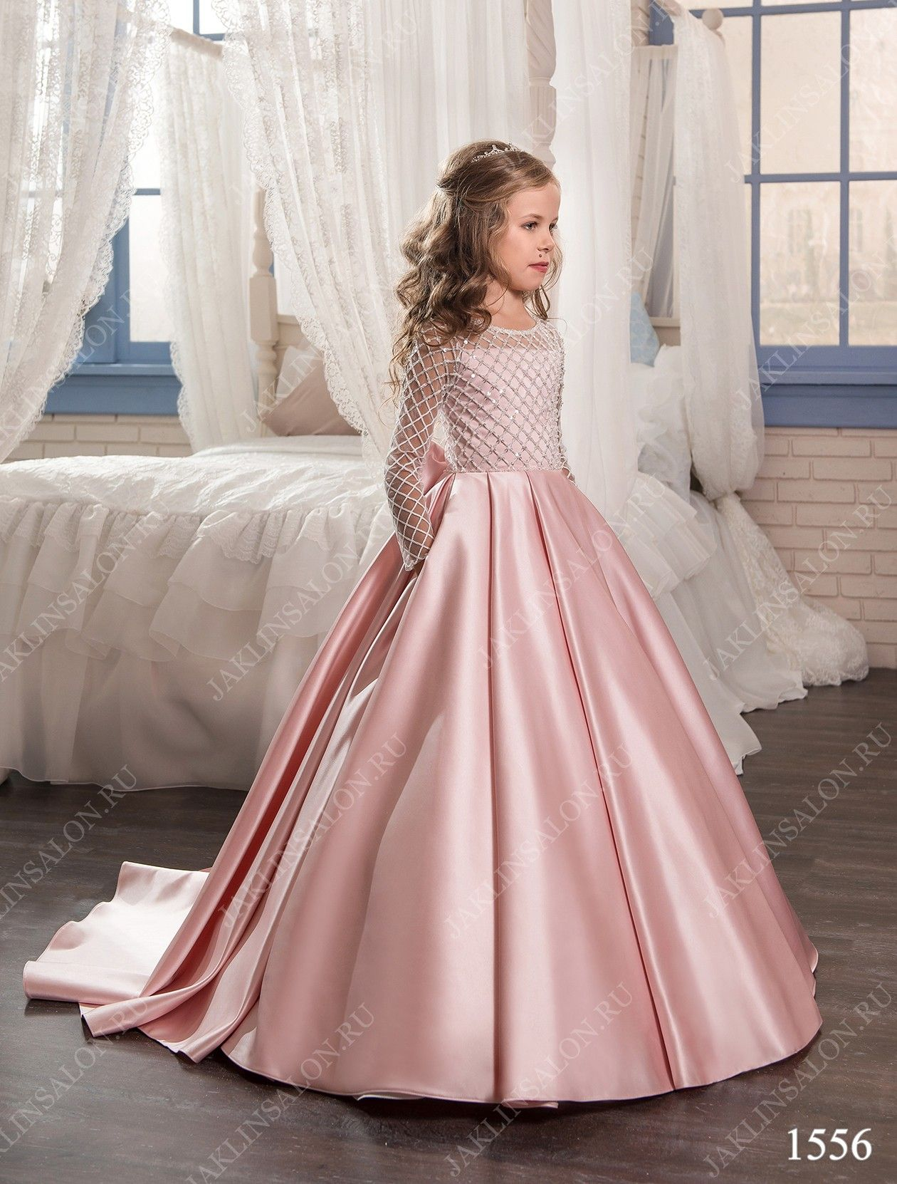 Baby dress model 1556 | Damitas de honor | Pinterest | Vestidos de ...