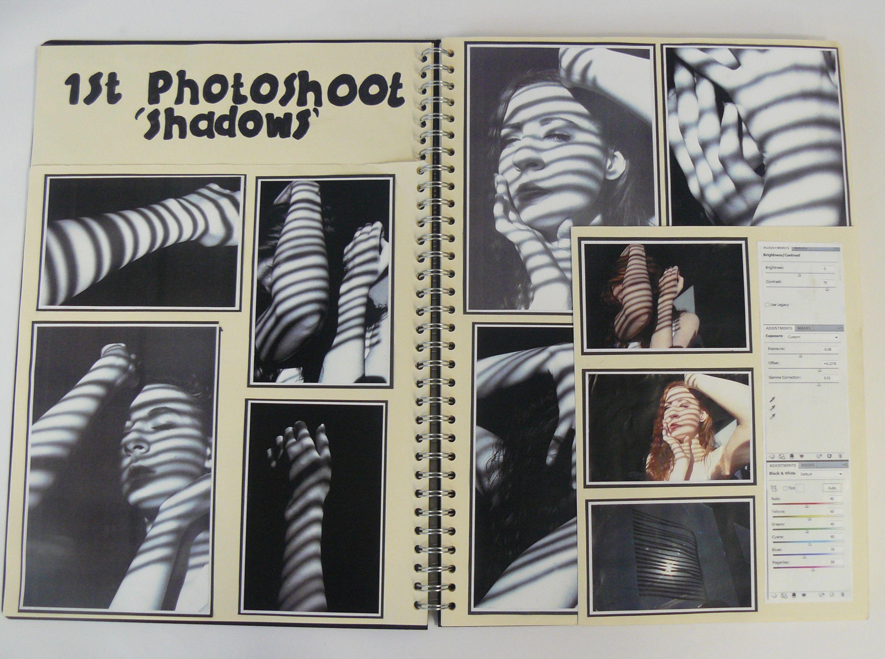 As Photography A3 Cream Sketchbook Photoshoot Esa Theme