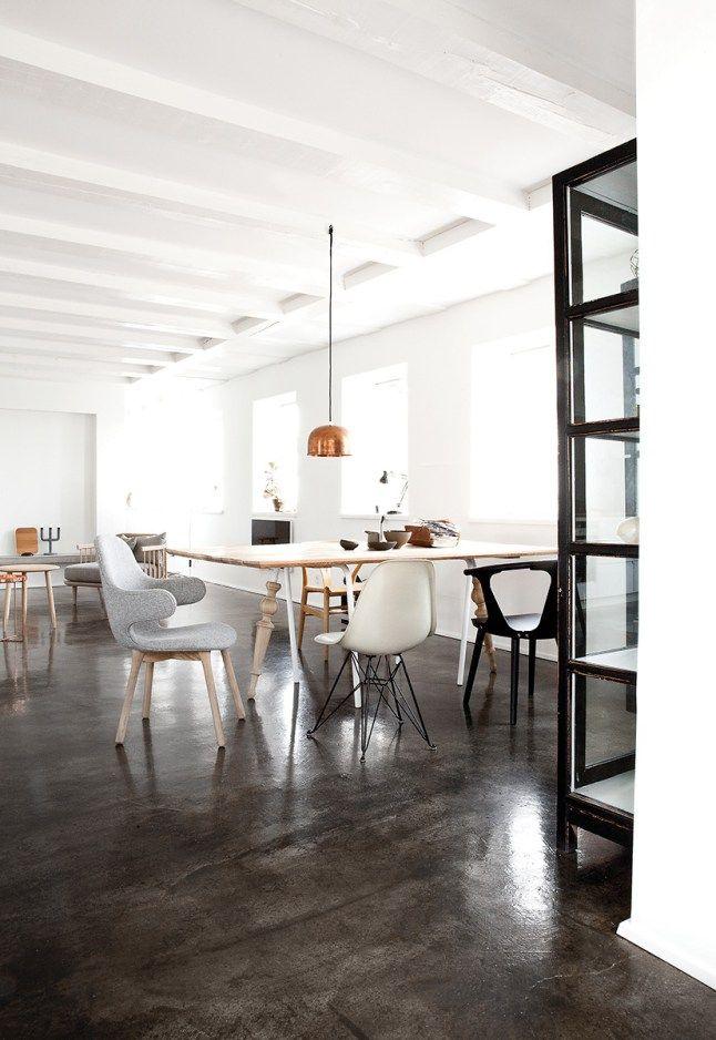 Une maison blanche et grise au Danemark Home Pinterest