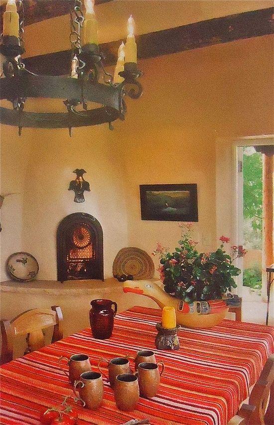 Santa Fe Style Living Room: Love Mexican/Santa Fe Style.