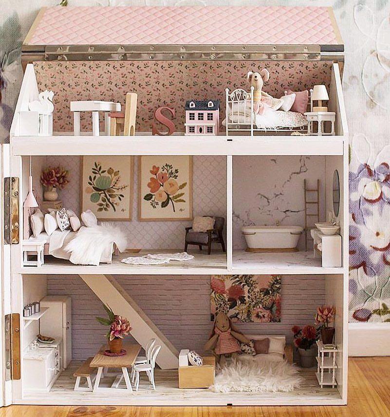 Weekend Furniture Warehouse: Brandie Pahl On Dollhouse Goodness