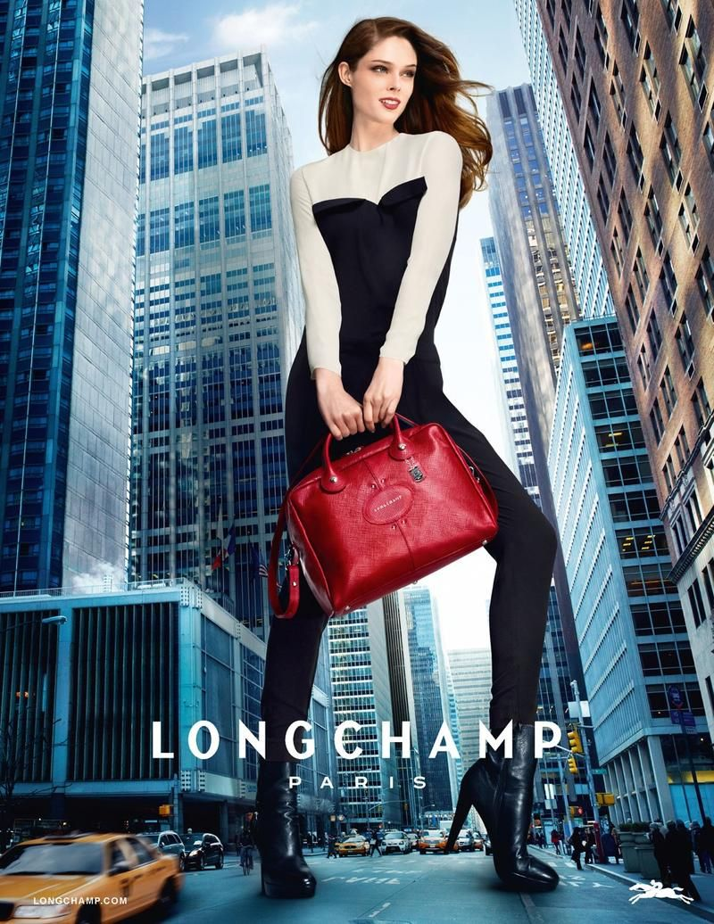 Coco Rocha for Longchamp SpringSummer 2013 Campaign