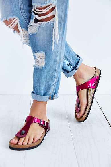 e8ed4230f6d Birkenstock Gizeh Thong Sandal in pink