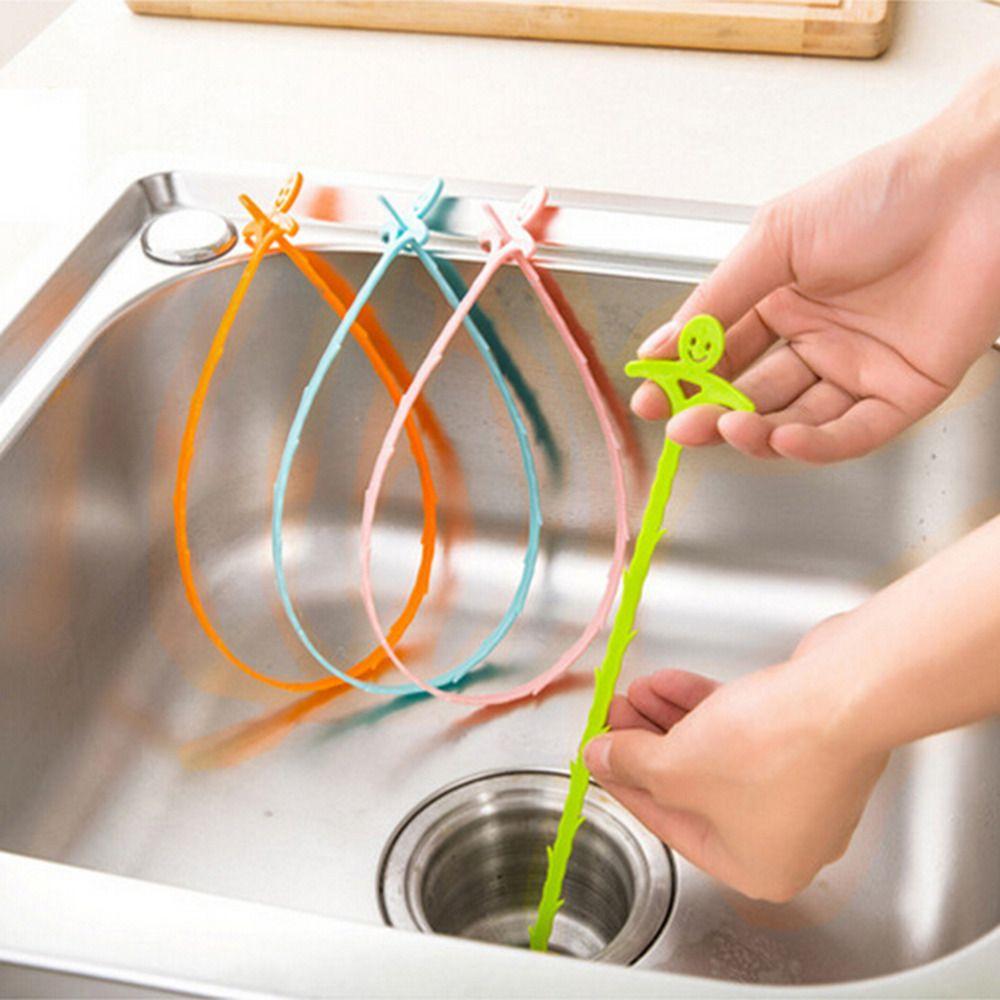 New Kitchen Snake Fixed Sink Tub Pine Drain Cleaner Bathroom Shower ...
