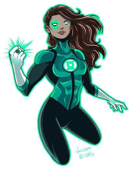 Green Lantern Jessica Cruz Rebirth - Luciano Vecchio -3883