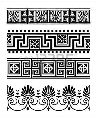 Greek Ornaments Greek Pattern Pattern Art Greek Art