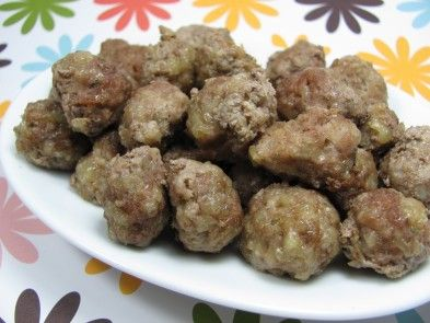 Parmesan Mini Meatballs Dog Treat Recipes Dog Recipes Homemade