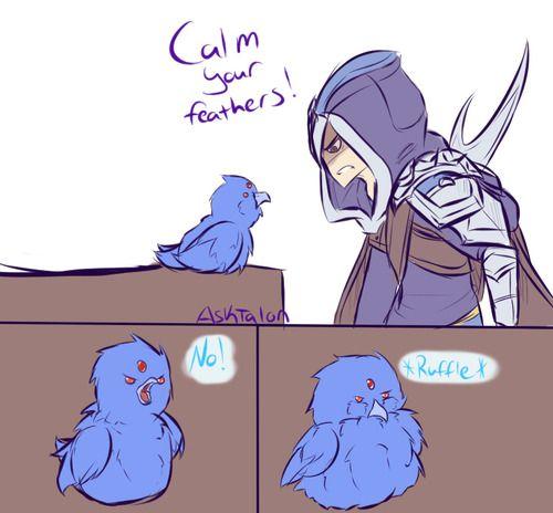 Anivia Vs Talon Post Lol League Of Legends League Of Legends Comic League Of Legends Talon