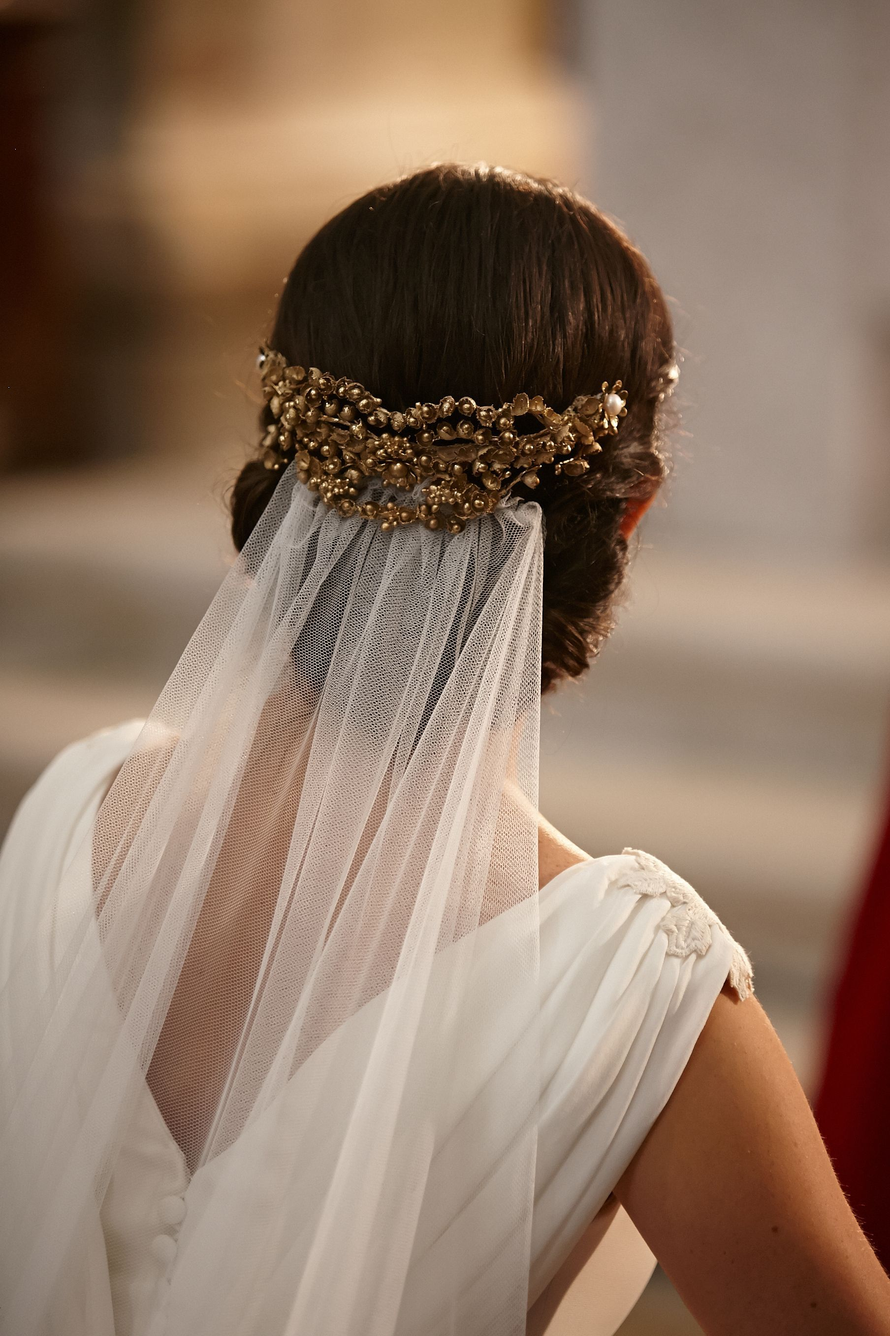 Formas de moda también peinados para mantilla Colección de ideas de color de pelo - A8J5391.jpg (1808×2712) | Mantillas de novia, Velos de ...