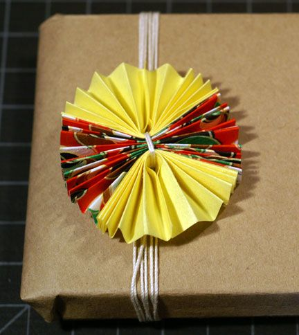 paper fan flower