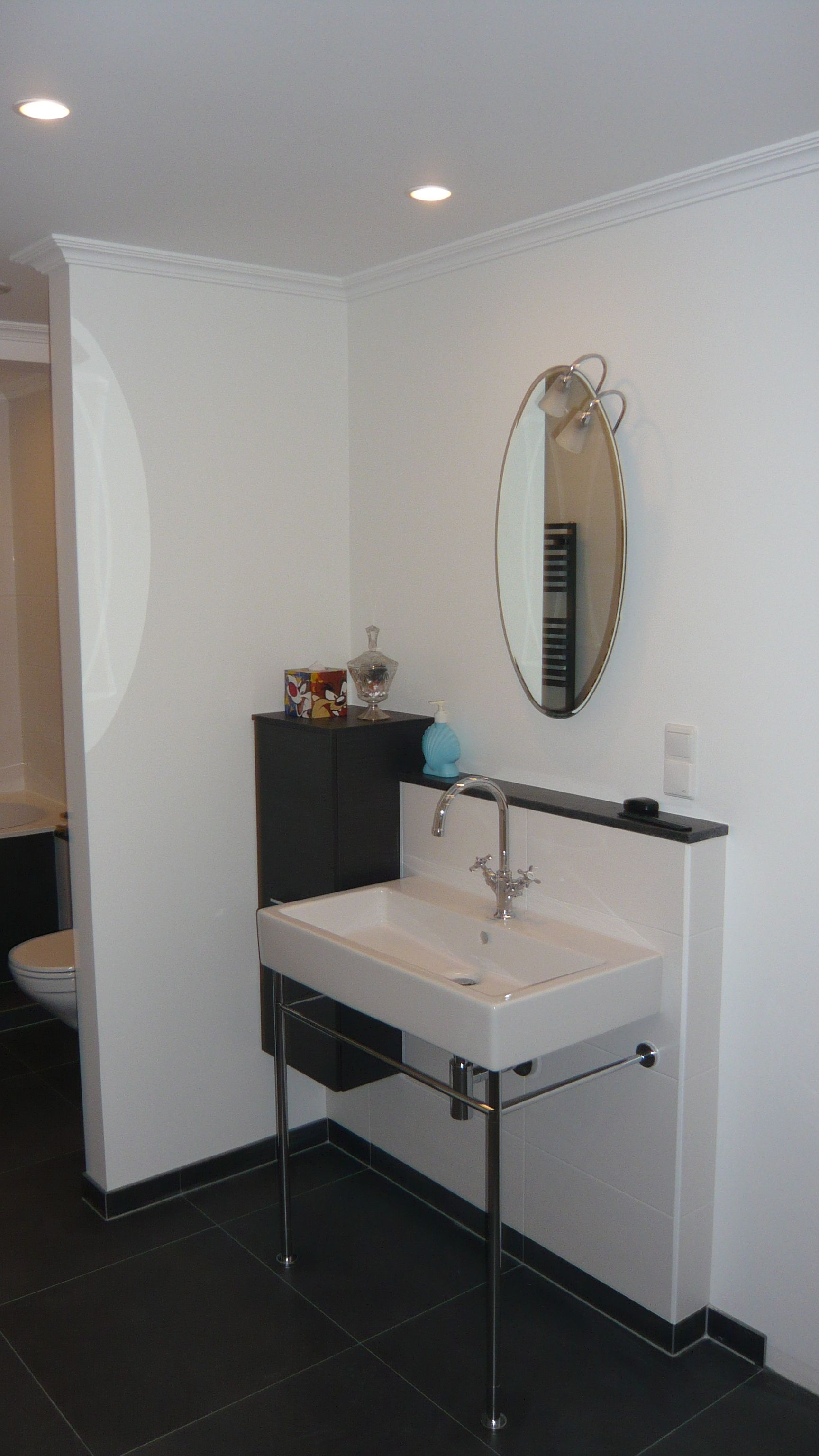 klassieke badkamer gerealiseerd door sanidrome ravo uit amsterdam