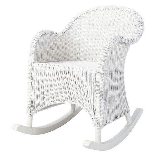 Rocking chair adulte blanc - Maison du Monde 200€