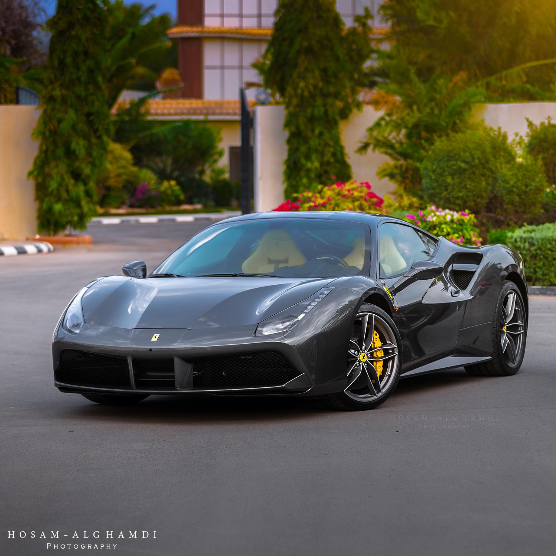 Ferrari 488 Gtb Grey With Yellow And Black Interior Seats Ferrari488gtb Ferrari 488 Ferrari 488 Gtb