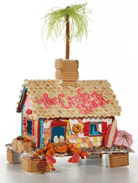 The Candy Cottage The Reusable Gingerbread House The