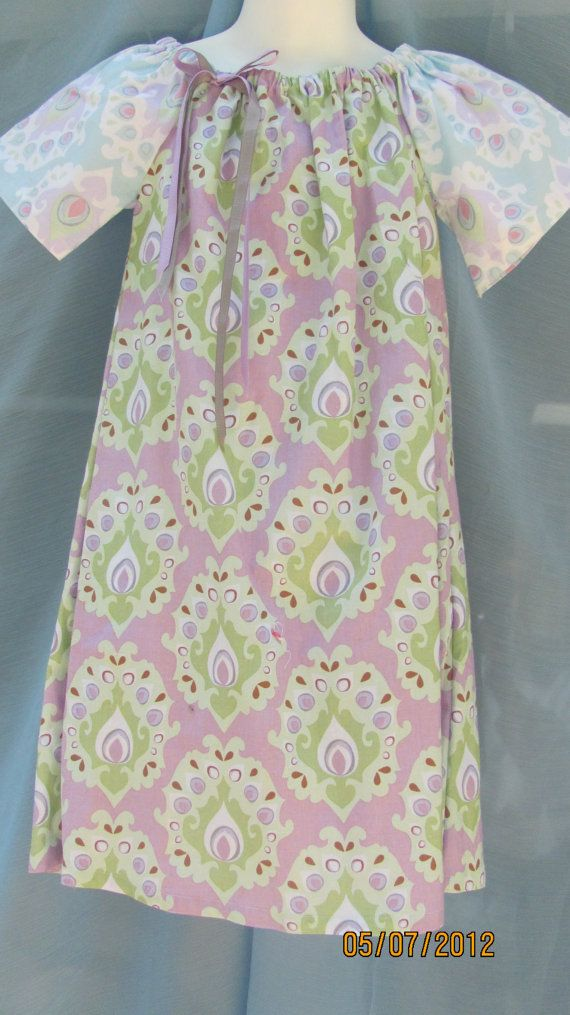 Size 5 Peasant Dress by hammies on Etsy, $16.50