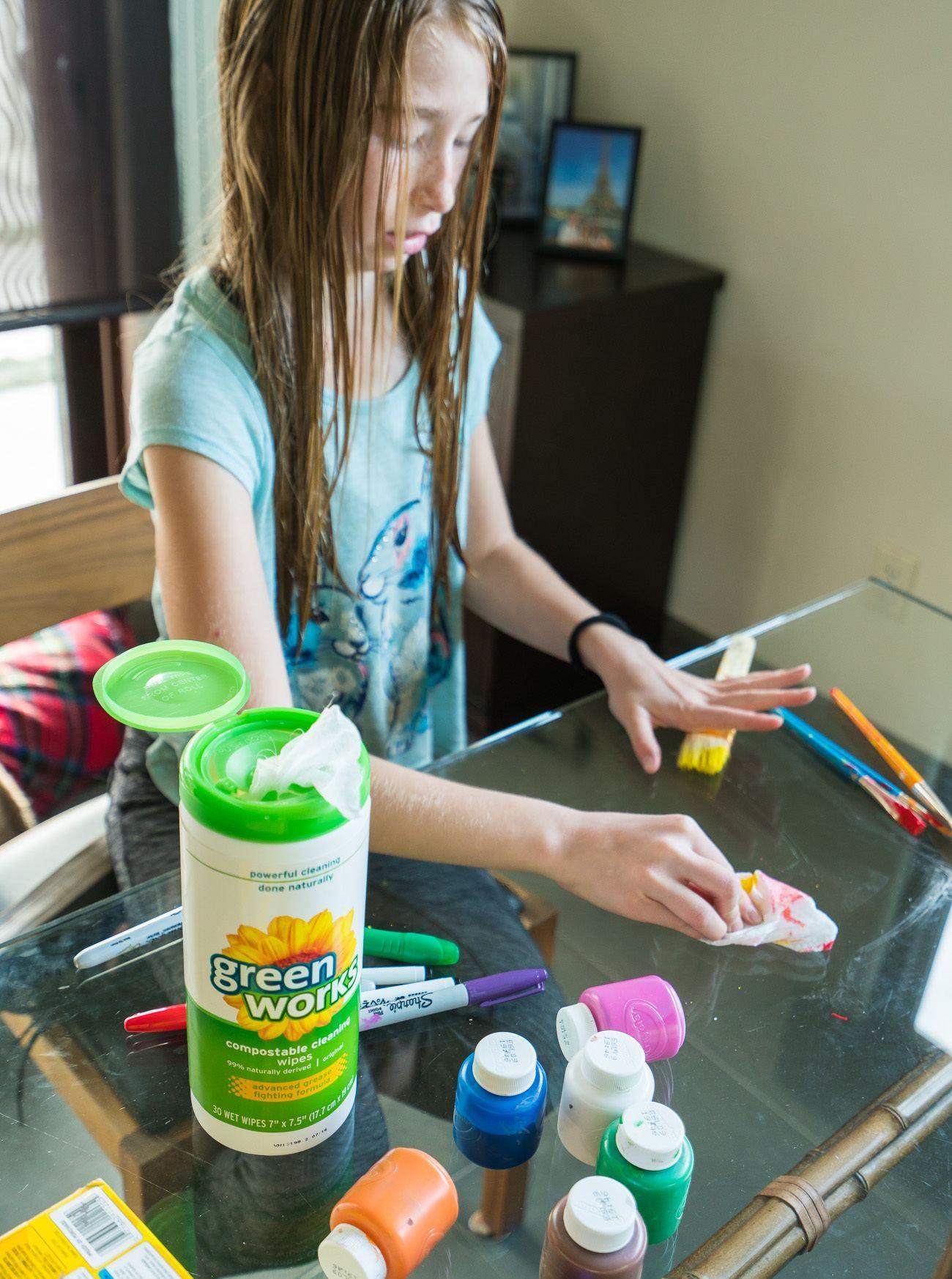 How To Make Emoji Pumpkins And Clean Up After Kids Crafts