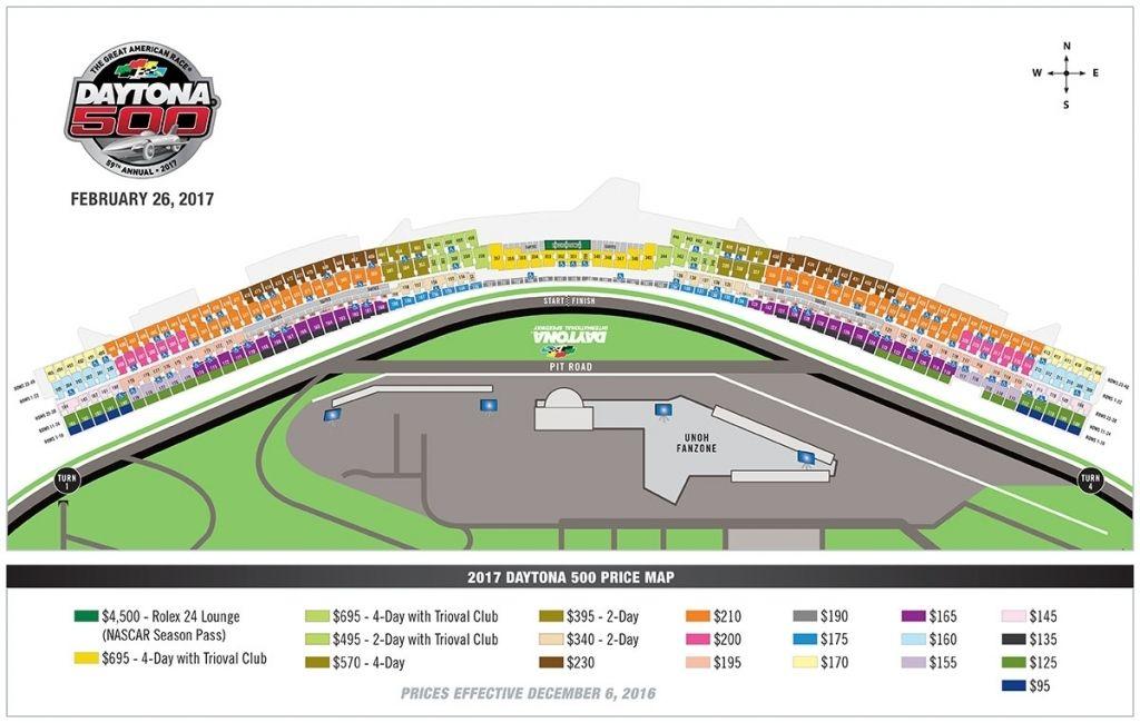Daytona International Speedway Seating Chart Daytona International Speedway Daytona 500 Nascar Season