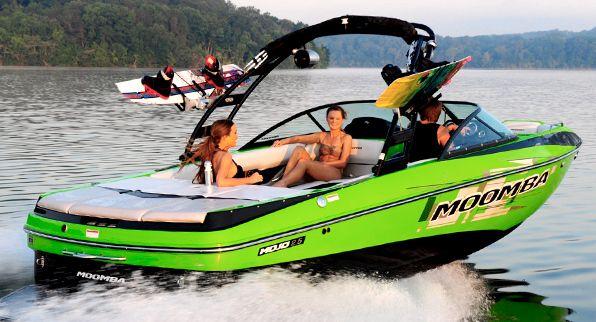 New 2014 Moomba Boats Mojo 25 Ski And Wakeboard Boat