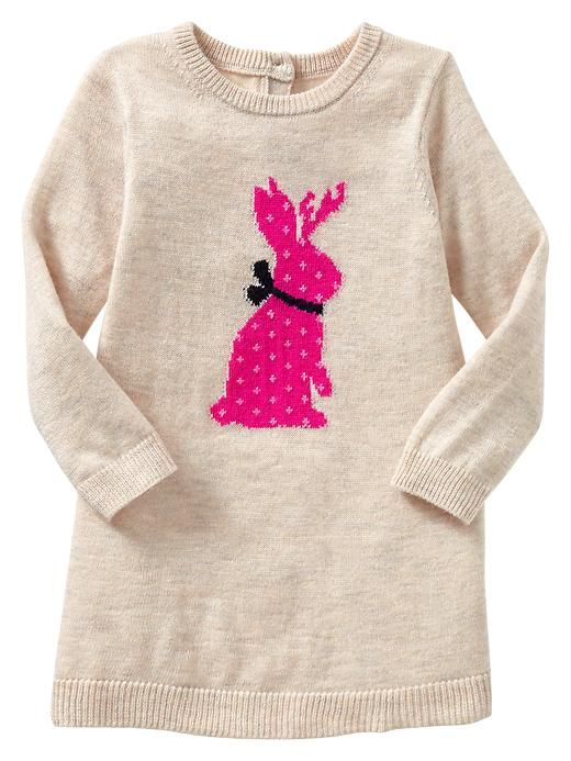4d5e5c738 Intarsia bunny sweater dress. I m in love with this dress!! I can ...