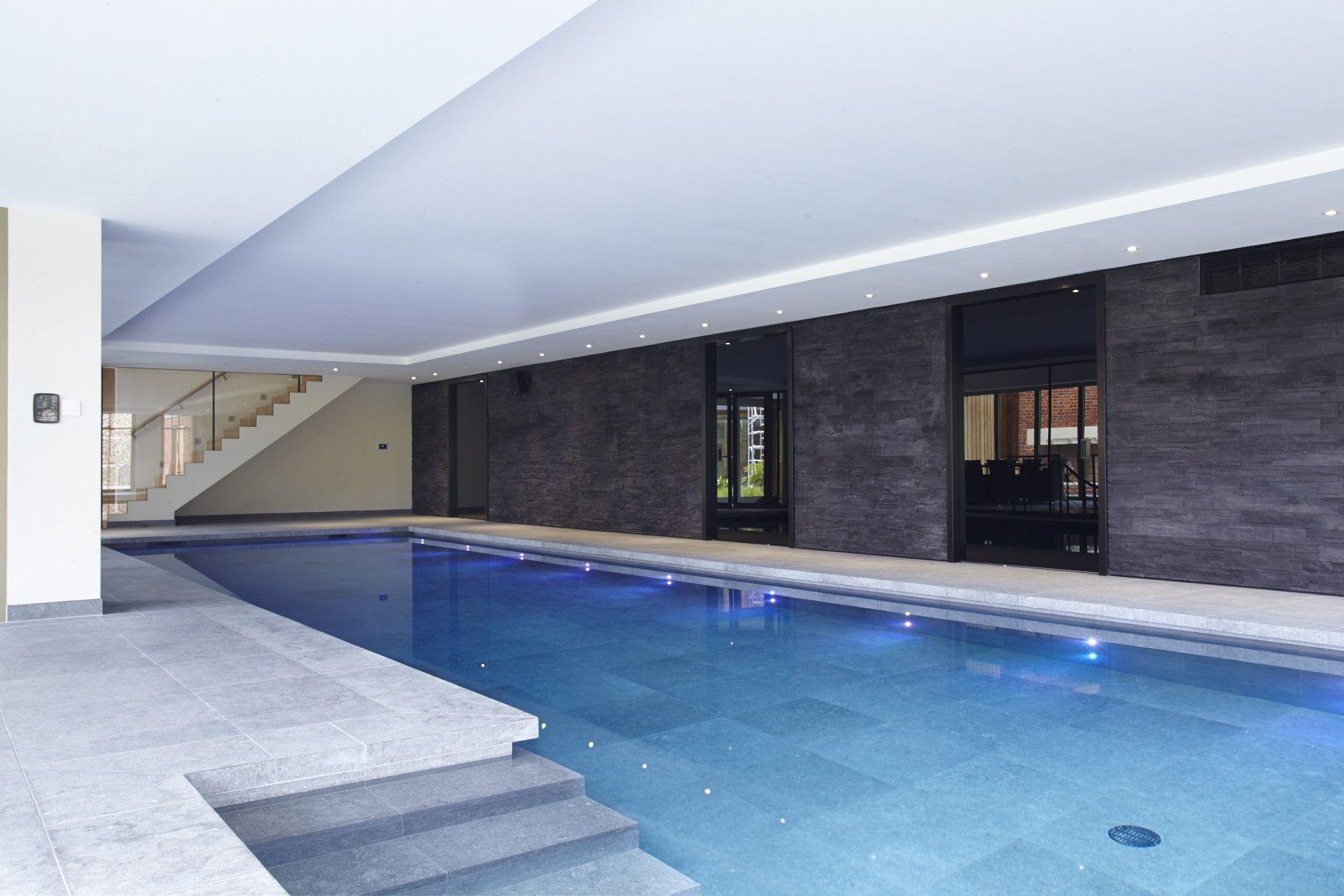 indoor pool lighting. Luxury Indoor Swimming Pool With Bespoke Lighting W
