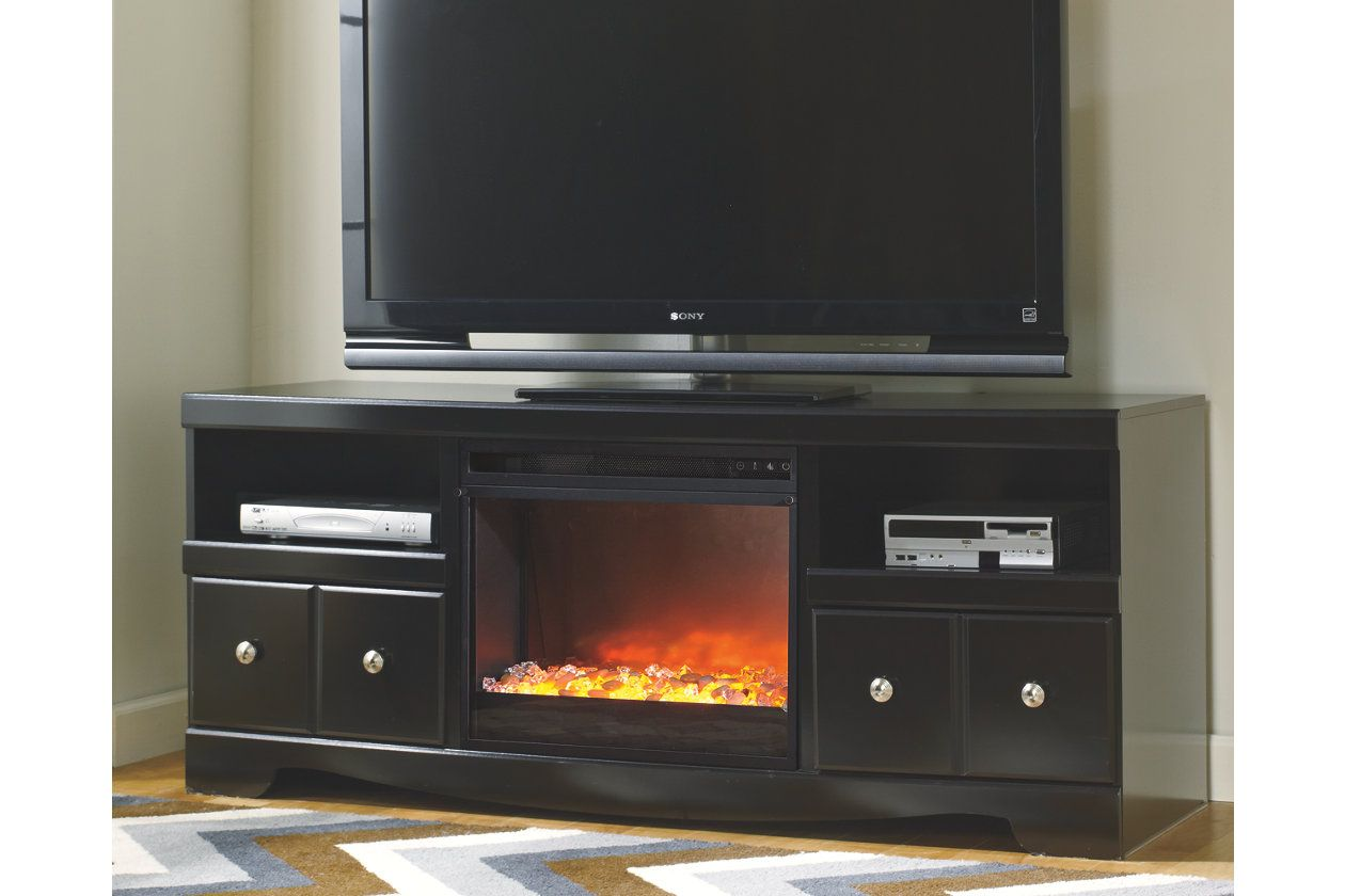 Shay Tv Stand With Fireplace Ashley Furniture Homestore