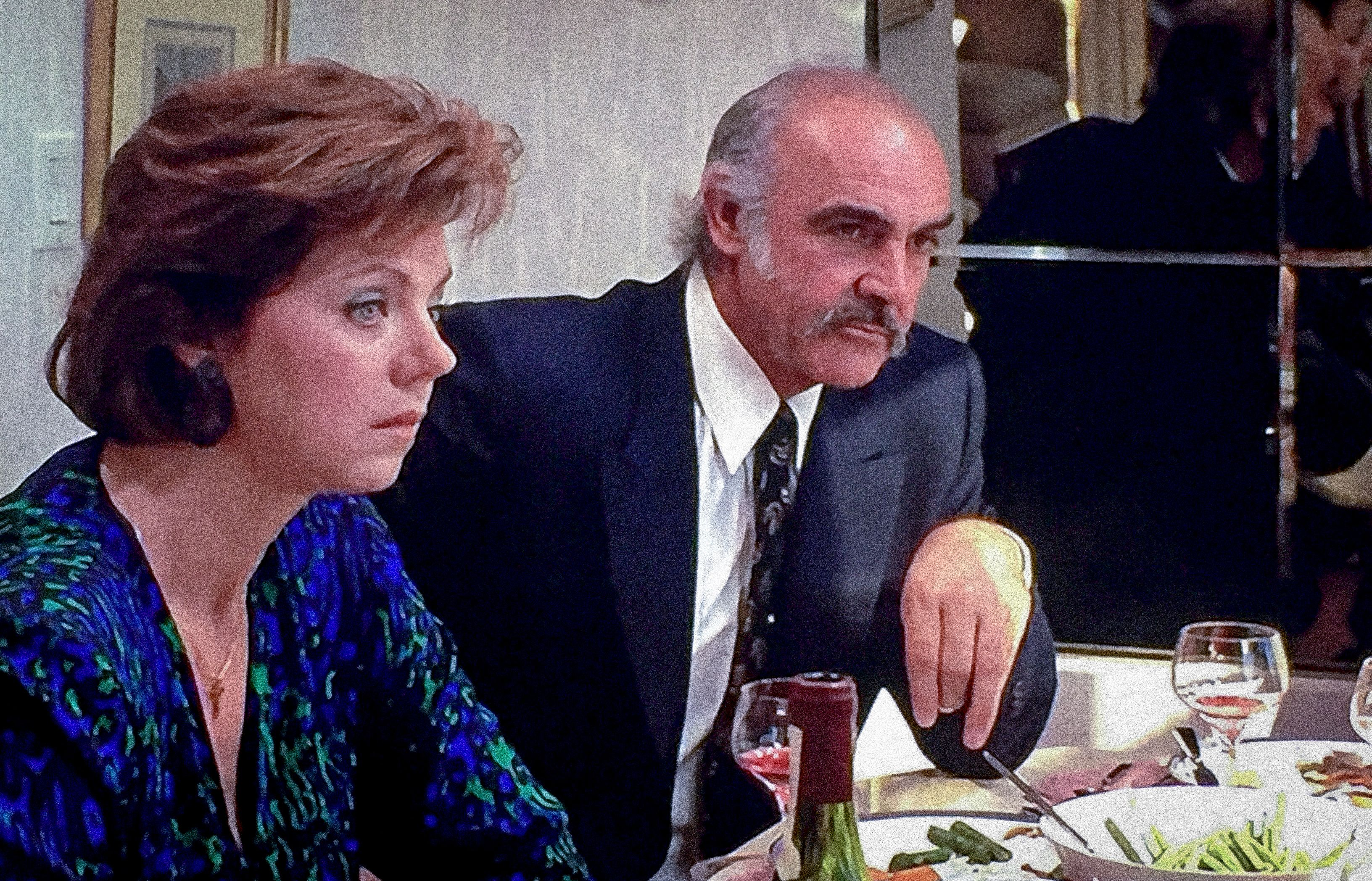 Sean Connery Blue Suit Family Business in 2020 Family