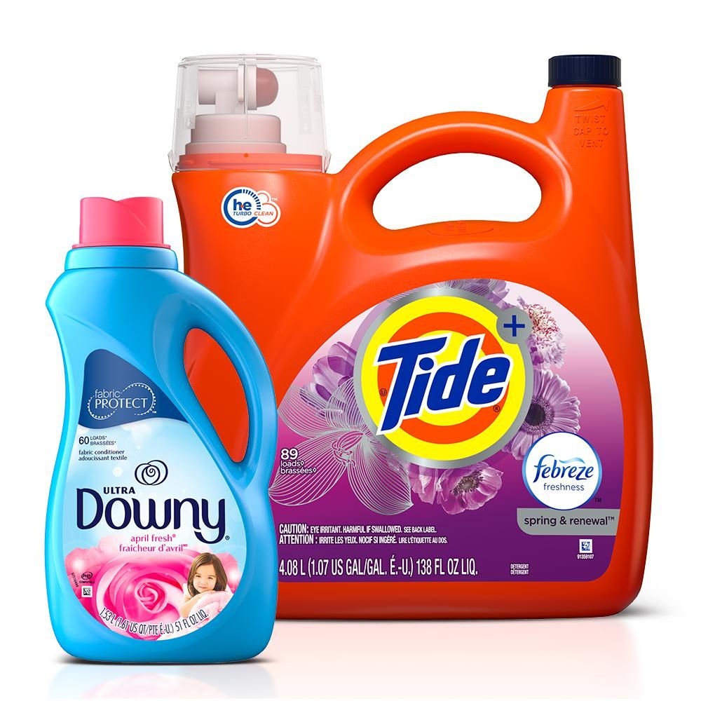 Tide Spring And Renewal He Liquid Laundry Detergent 72 Loads And