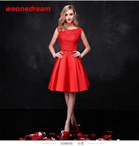 b20ba852c Vestidos rojos cortos 2016