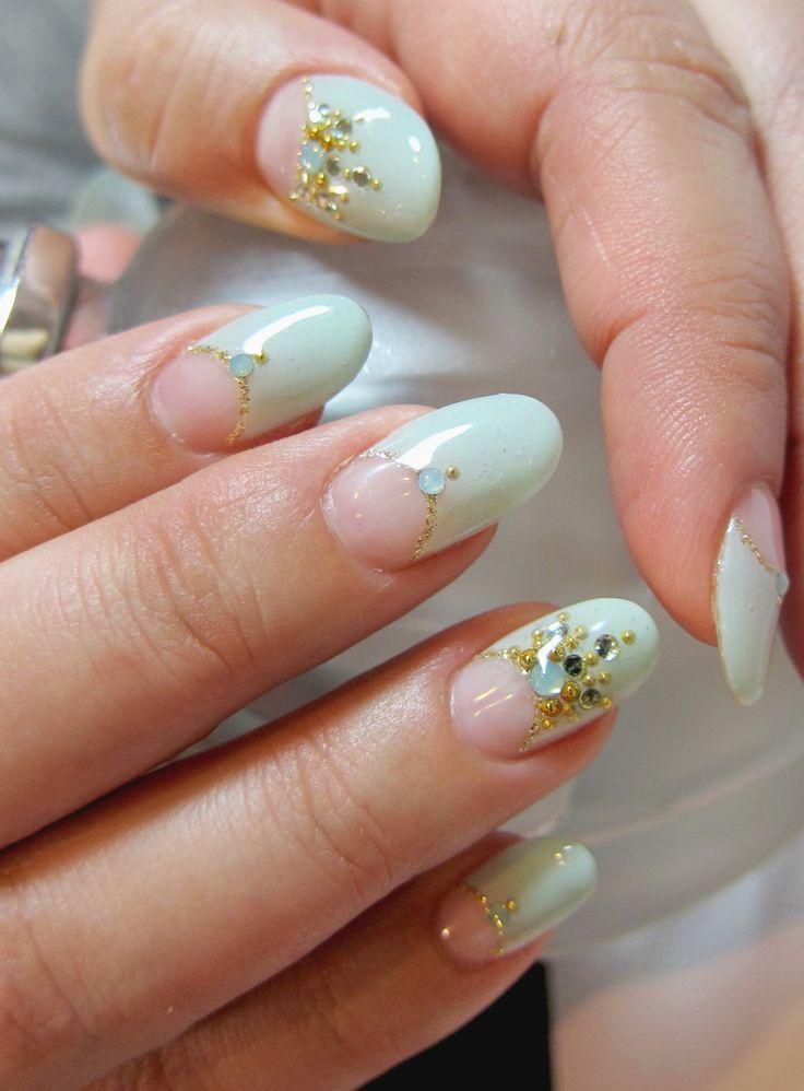 - 25 Magnificent Half-Moon Nail Designs