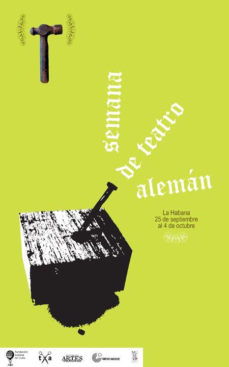 Idania del Rio, semana de teatro alemán