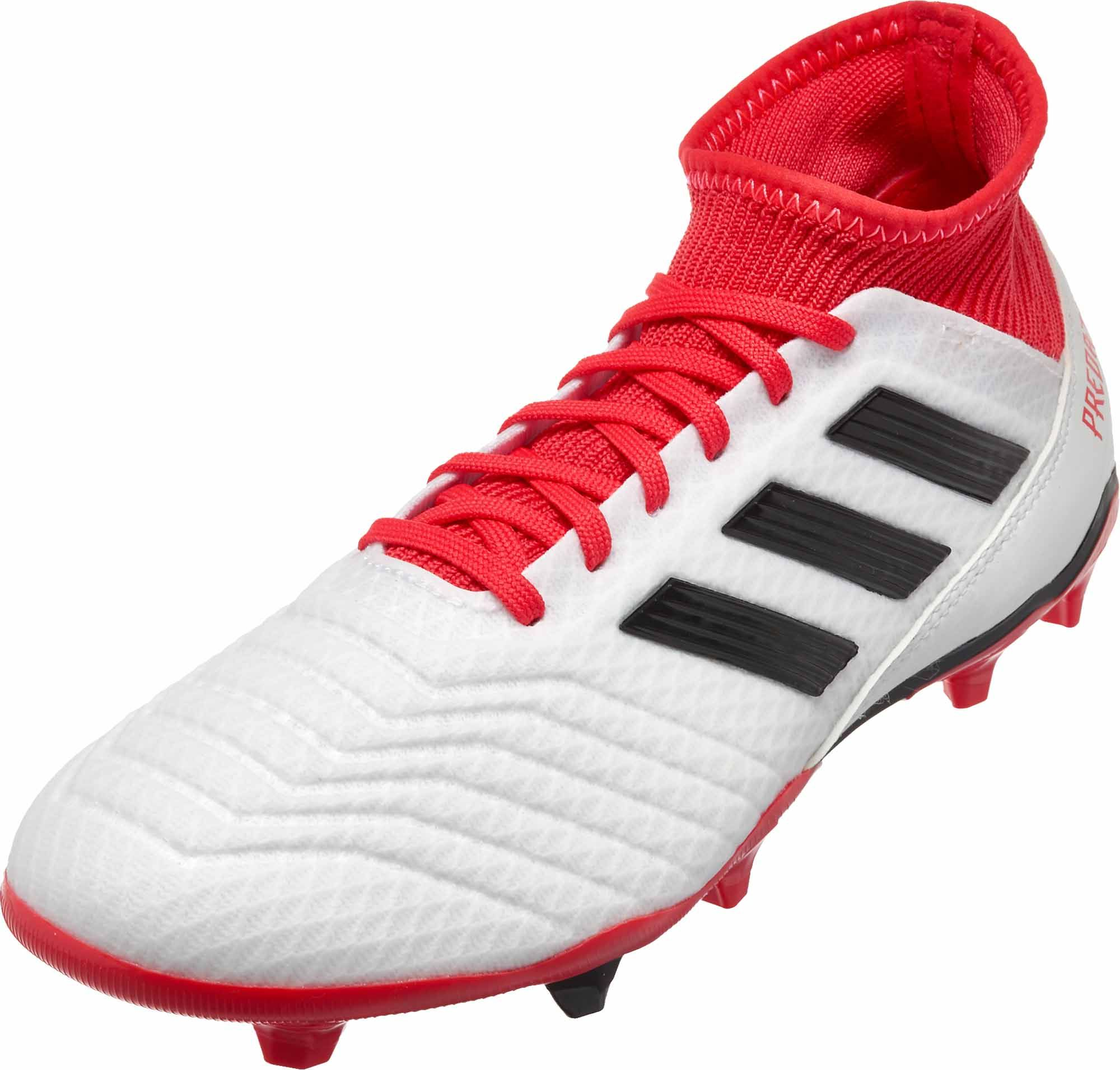 1cf963eeefb Get these adidas Predator 18.3 FG soccer cleats from SoccerPro.