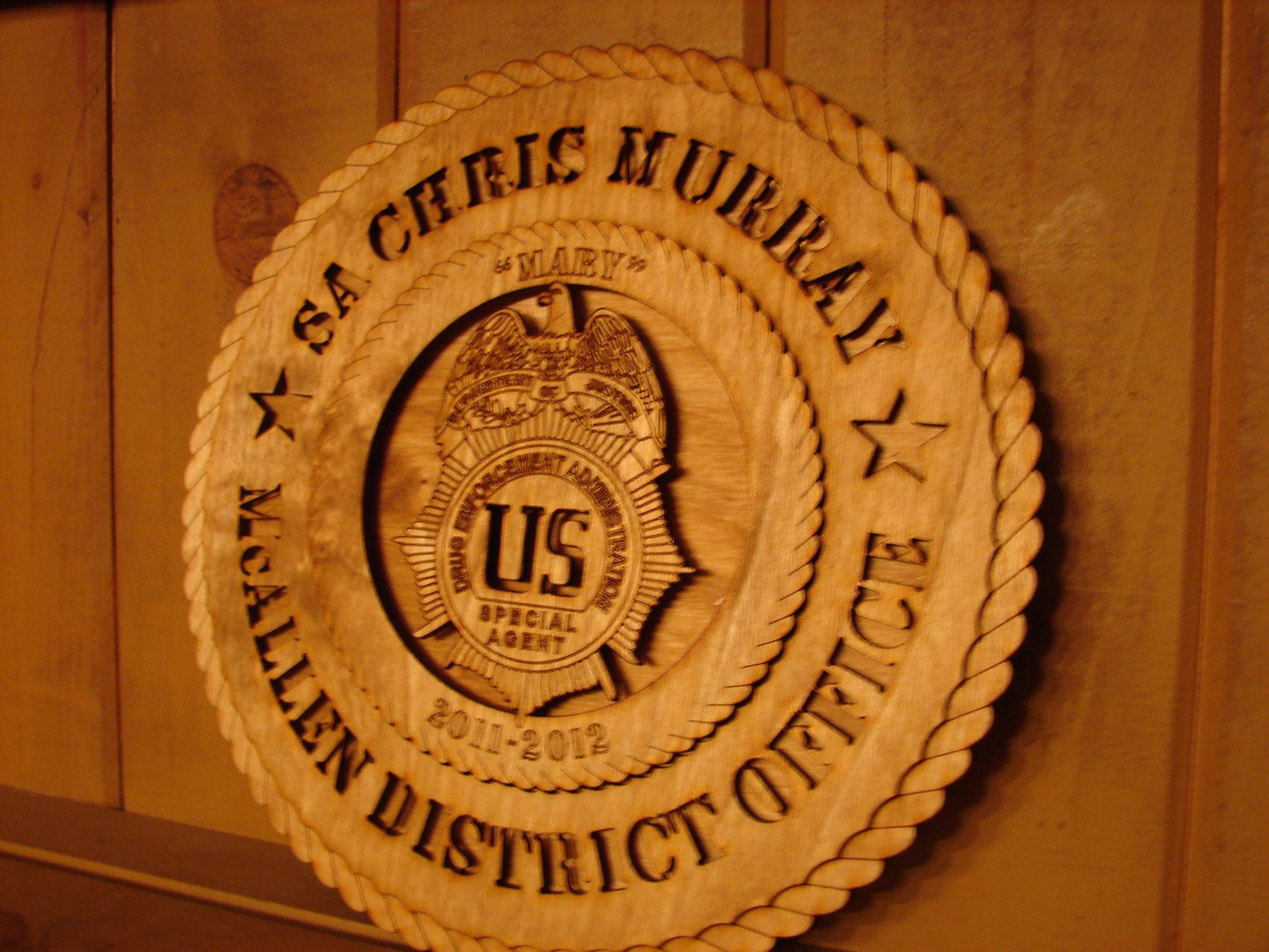 Drug Enforcement Administration Badge