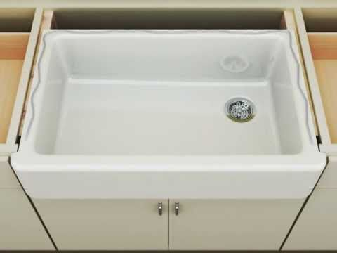 Etonnant Kohler Whitehaven Apron Front Sink   Short Apro... By Kohler 693 Views