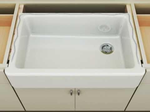 Kohler Whitehaven Apron Front Sink Short Apro by