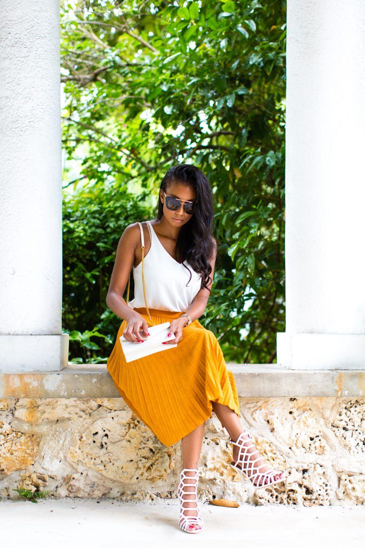 Rochelle Fletcher -- NYFW anticipation  Fashionstyle