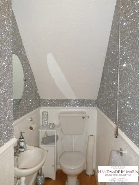 Delightful Glitter Wallpaper \u2013 Handmade By Maria