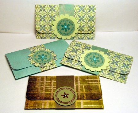 Simple Gift Card Holders