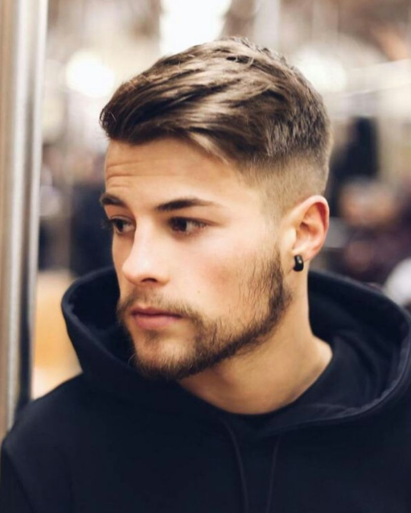 Mens haircuts with beards kort haar voor mannen  haar  pinterest  haircuts hair cuts and