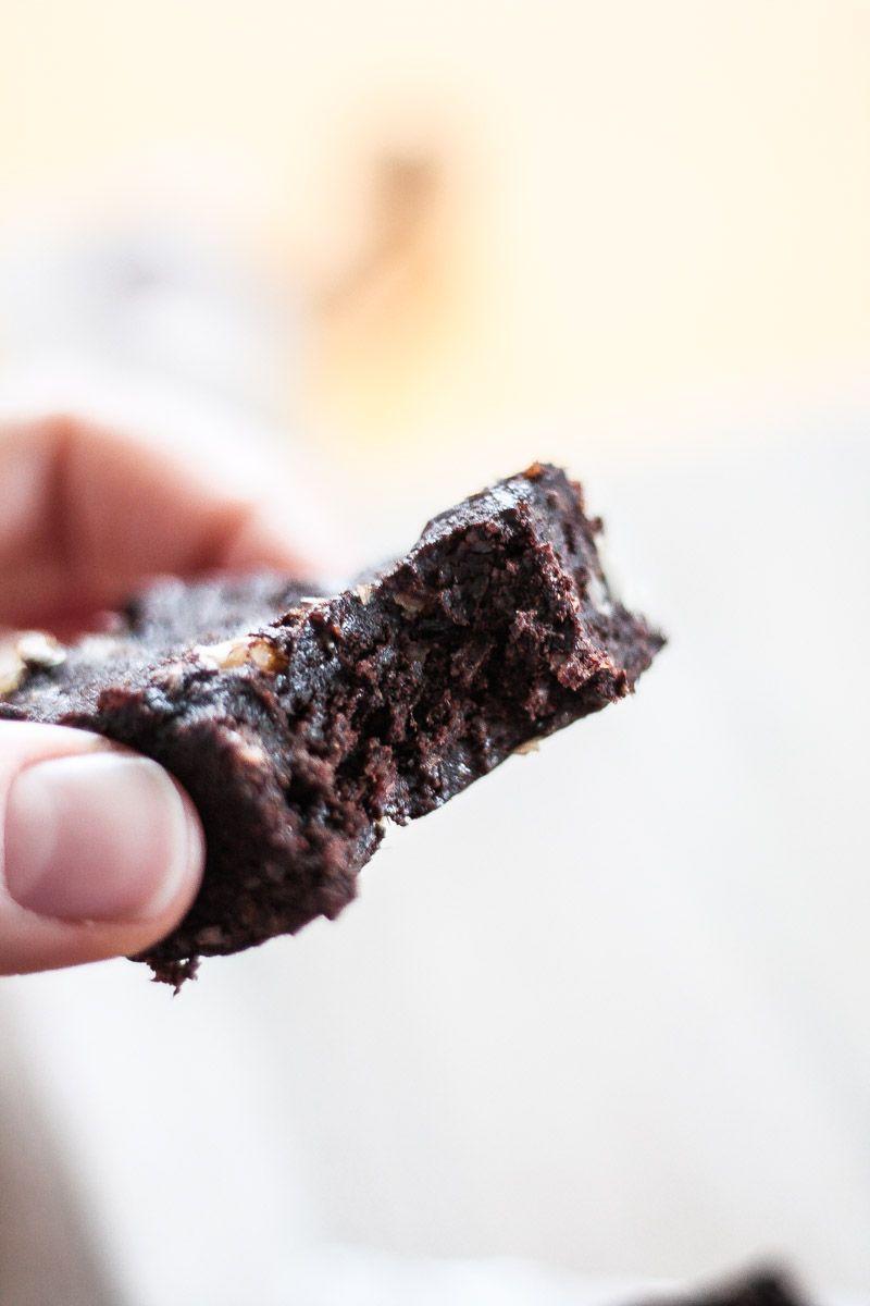 Gesunde Brownies - vegan, zuckerfrei und glutenfrei, ohne ...