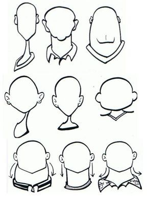 Face Caricature Drawing Drawing Cartoon Characters Caricature