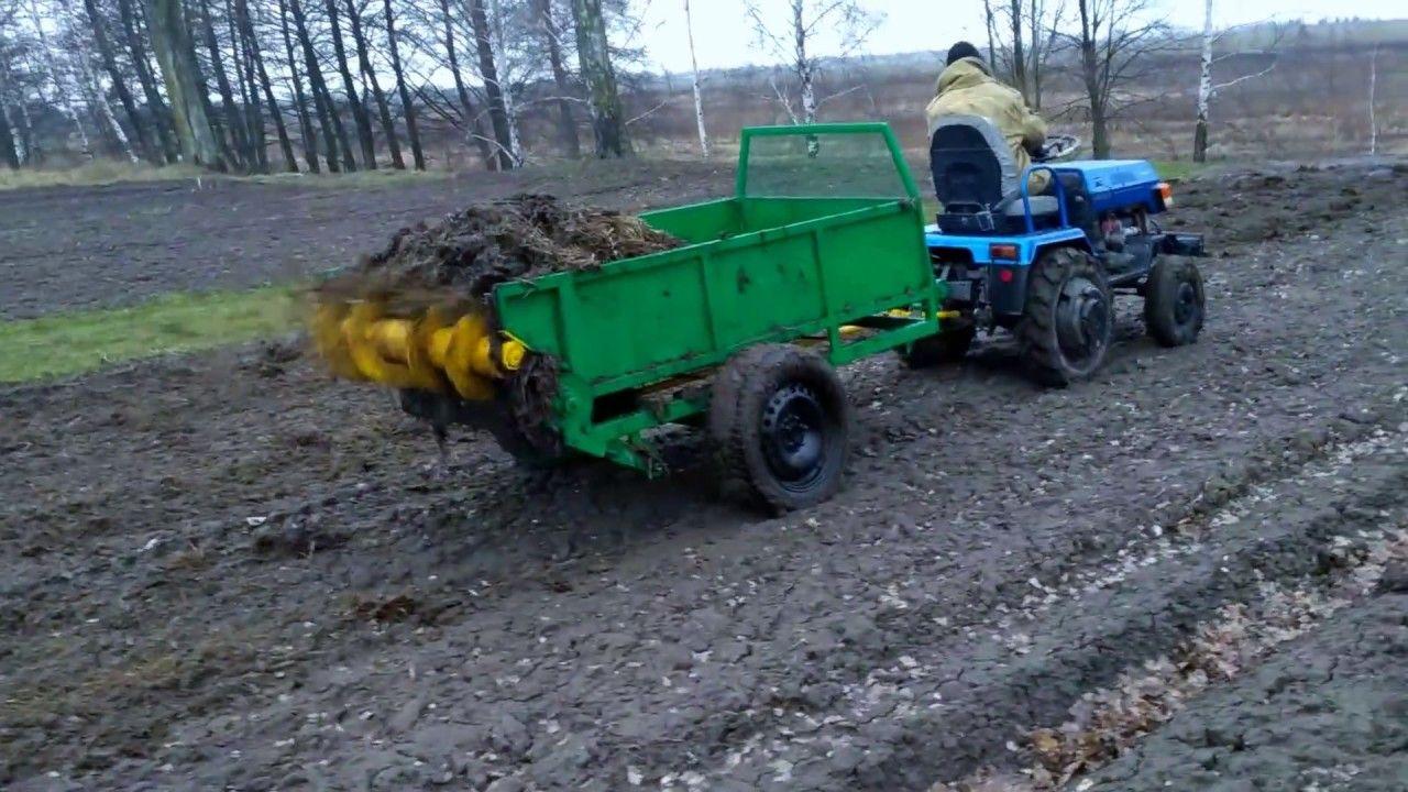 Ispytanie Navozorazbrasyvatelya Dlya Minitraktora Amzhk 8