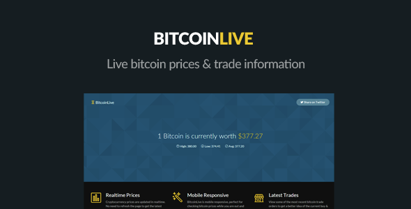 Codecanyon bitcoin exchange rates